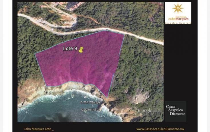Foto de terreno habitacional en venta en paseo de los manglares, 3 de abril, acapulco de juárez, guerrero, 629447 no 01