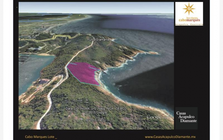 Foto de terreno habitacional en venta en paseo de los manglares, 3 de abril, acapulco de juárez, guerrero, 629447 no 03
