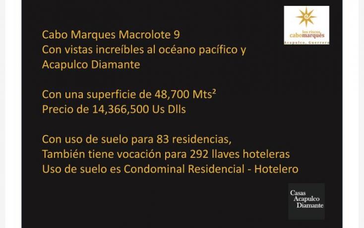 Foto de terreno habitacional en venta en paseo de los manglares, 3 de abril, acapulco de juárez, guerrero, 629447 no 05