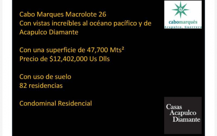 Foto de terreno habitacional en venta en paseo de los manglares, 3 de abril, acapulco de juárez, guerrero, 629449 no 05