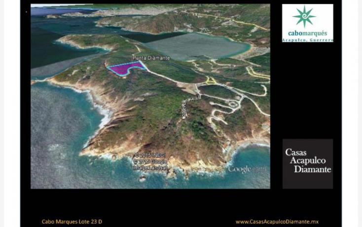 Foto de terreno habitacional en venta en paseo de los manglares, 3 de abril, acapulco de juárez, guerrero, 629452 no 01