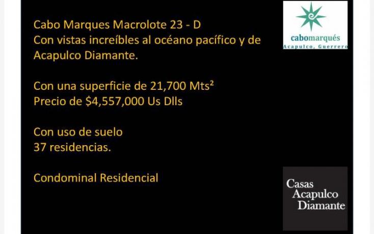 Foto de terreno habitacional en venta en paseo de los manglares, 3 de abril, acapulco de juárez, guerrero, 629452 no 02