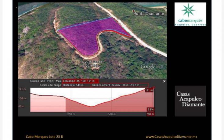 Foto de terreno habitacional en venta en paseo de los manglares, 3 de abril, acapulco de juárez, guerrero, 629452 no 07