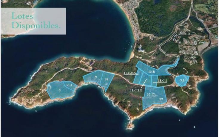 Foto de terreno habitacional en venta en paseo de los manglares, 3 de abril, acapulco de juárez, guerrero, 629454 no 01