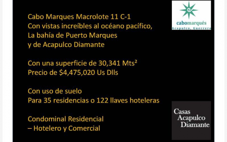 Foto de terreno habitacional en venta en paseo de los manglares, 3 de abril, acapulco de juárez, guerrero, 629457 no 04