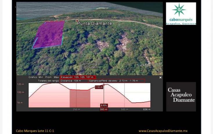 Foto de terreno habitacional en venta en paseo de los manglares, 3 de abril, acapulco de juárez, guerrero, 629457 no 12