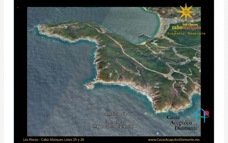 Foto de terreno habitacional en venta en paseo de los manglares, 3 de abril, acapulco de juárez, guerrero, 629523 no 02