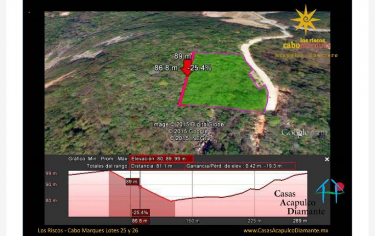 Foto de terreno habitacional en venta en paseo de los manglares, 3 de abril, acapulco de juárez, guerrero, 629523 no 10