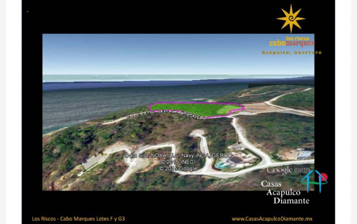 Foto de terreno habitacional en venta en paseo de los manglares, 3 de abril, acapulco de juárez, guerrero, 629527 no 02