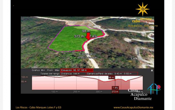 Foto de terreno habitacional en venta en paseo de los manglares, 3 de abril, acapulco de juárez, guerrero, 629527 no 05