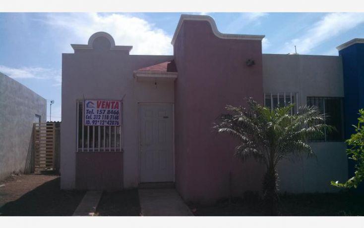Foto de casa en venta en paseo de los manzanos 15, san miguel, coquimatlán, colima, 1734510 no 01