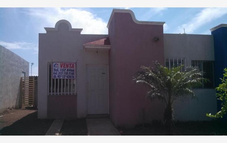 Foto de casa en venta en paseo de los manzanos 15, san miguel, coquimatl?n, colima, 1734510 No. 01