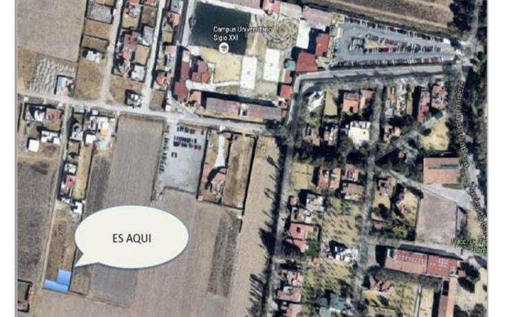 Foto de terreno habitacional en venta en paseo ex hacienda barbosa , san miguel zinacantepec, zinacantepec, méxico, 989819 No. 03