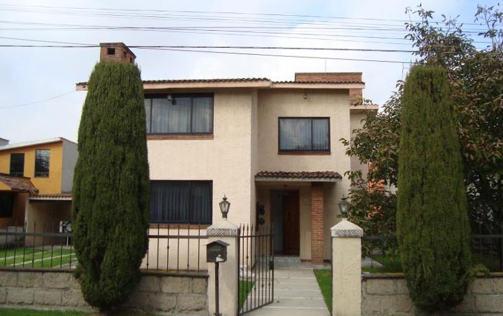 Foto de casa en venta en paseo lorena 1, bellavista, metepec, m?xico, 1528084 No. 01