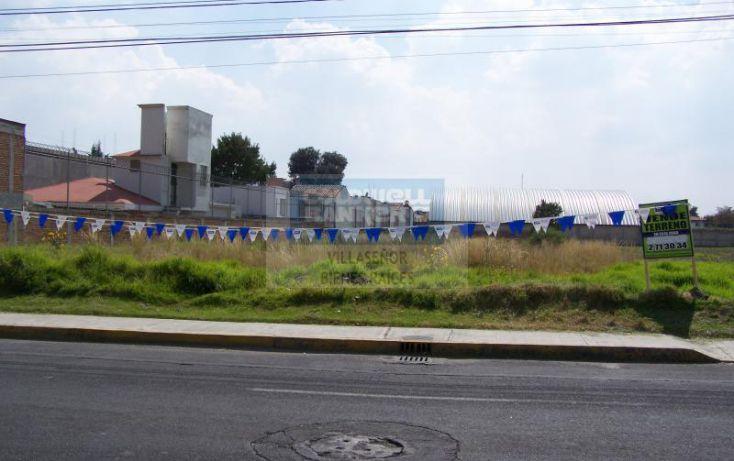 Foto de terreno habitacional en venta en paseo san isidro, santiaguito, metepec, estado de méxico, 630172 no 01
