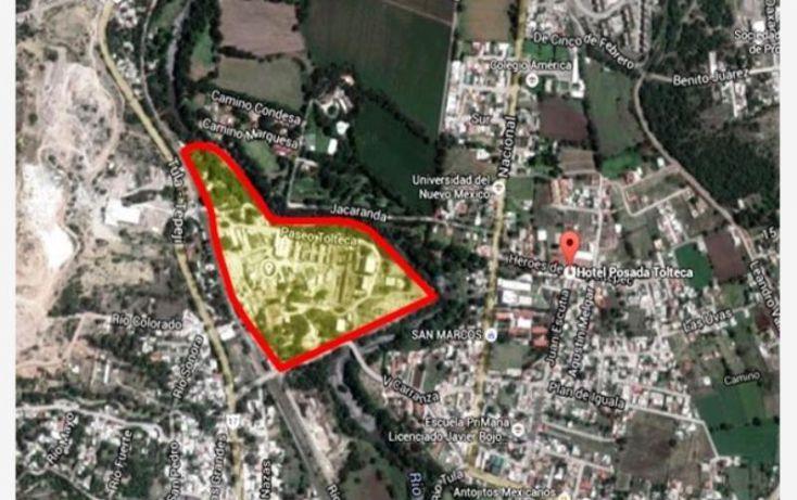 Foto de terreno industrial en venta en paseo tolteca, tolteca, tula de allende, hidalgo, 1180705 no 01