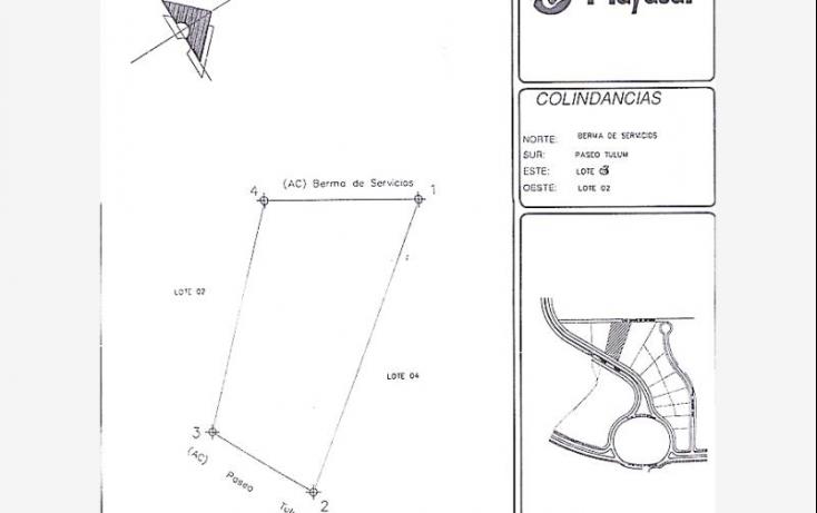 Foto de terreno habitacional en venta en paseo tulum, playa car fase ii, solidaridad, quintana roo, 521273 no 01
