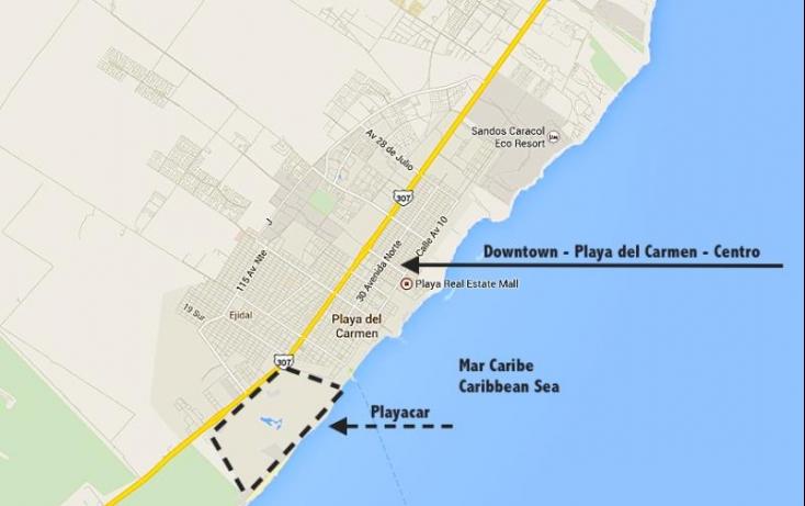 Foto de terreno habitacional en venta en paseo xaman ha, playa car fase ii, solidaridad, quintana roo, 526722 no 03
