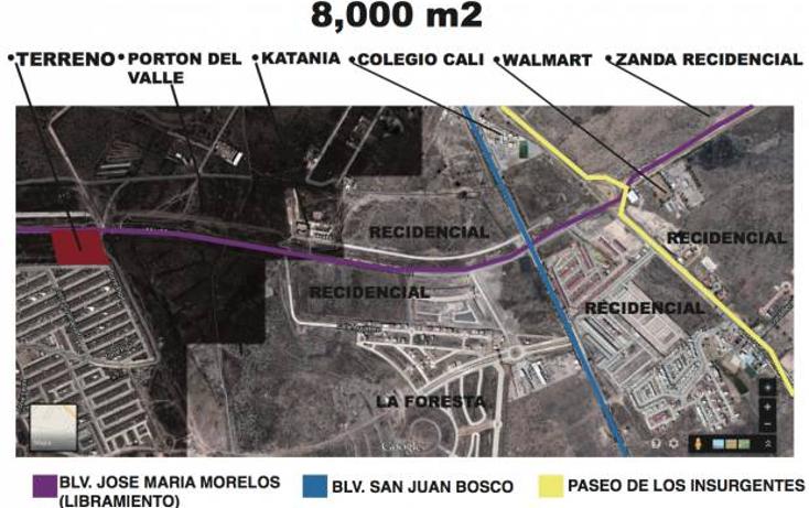 Foto de terreno habitacional en venta en  , paseos de country 3, león, guanajuato, 1198935 No. 03