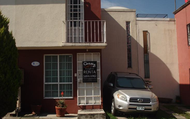 Foto de casa en renta en  , paseos del encanto, cuautitlán izcalli, méxico, 1713174 No. 01