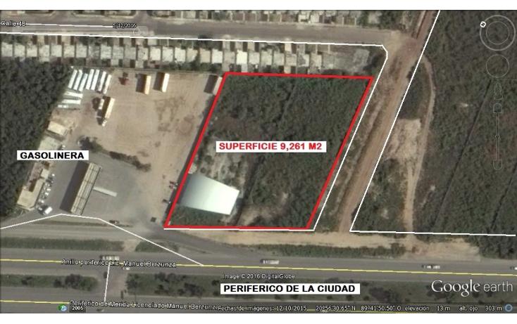 Foto de terreno comercial en venta en  , paseos de opichen, m?rida, yucat?n, 1865938 No. 01
