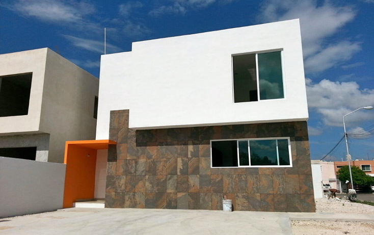 Foto de casa en venta en  , paseos de pensiones, m?rida, yucat?n, 491549 No. 01