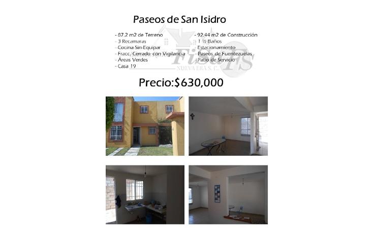 Foto de casa en venta en  , paseos de san isidro, san juan del río, querétaro, 1501707 No. 01