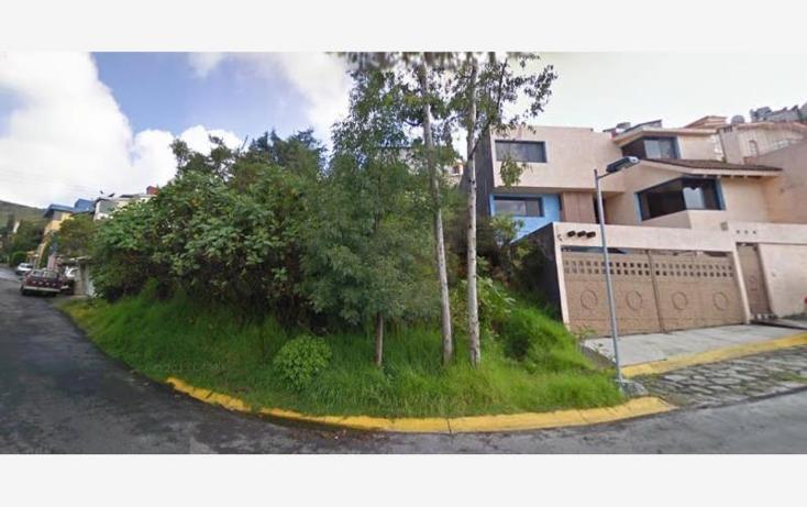 Foto de terreno habitacional en venta en  , paseos del bosque, naucalpan de juárez, méxico, 969841 No. 01