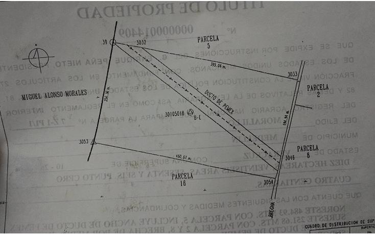 Foto de terreno comercial en venta en  , paso del toro, medell?n, veracruz de ignacio de la llave, 1088583 No. 02