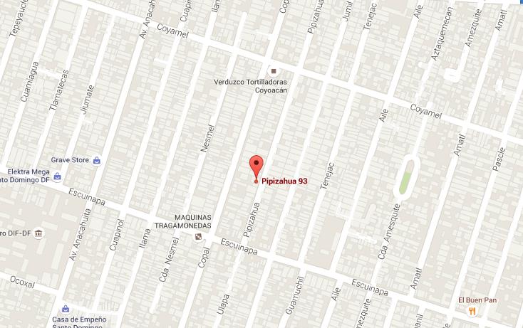 Foto de departamento en venta en  , pedregal de santo domingo, coyoac?n, distrito federal, 1746878 No. 03