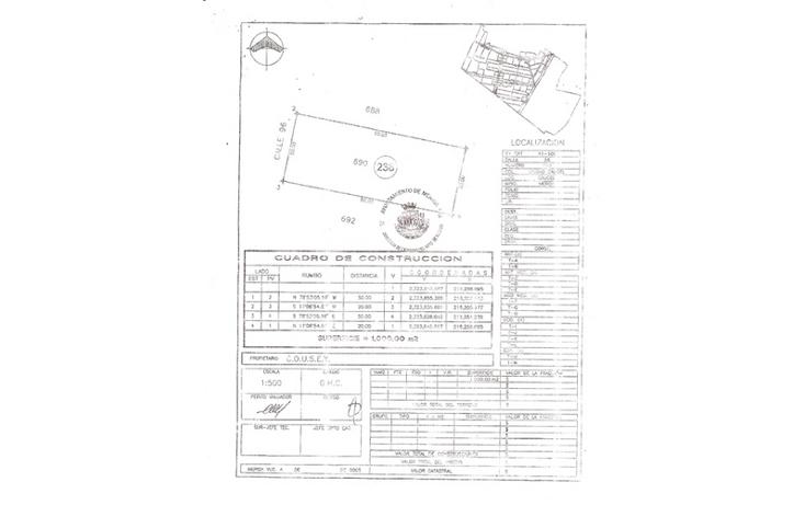 Foto de terreno comercial en venta en  , pedregales de ciudad caucel, mérida, yucatán, 941411 No. 02