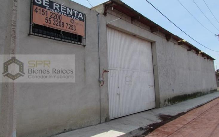 Foto de nave industrial en renta en  1, el salado, atenco, méxico, 836601 No. 02