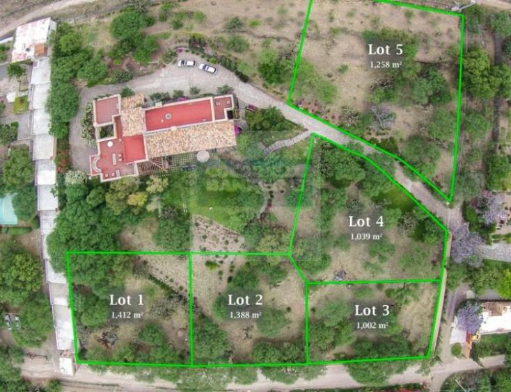 Foto de terreno habitacional en venta en pedro paramo , el mirador, san miguel de allende, guanajuato, 1153999 No. 01