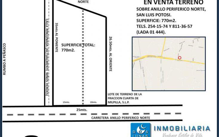 Foto de terreno comercial en venta en, peñasco, san luis potosí, san luis potosí, 1841386 no 03