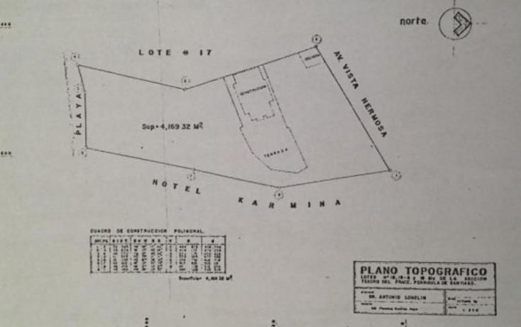 Foto de terreno habitacional en venta en, península de santiago, manzanillo, colima, 1337013 no 03