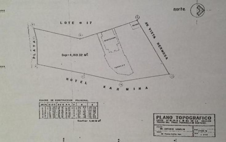 Foto de terreno habitacional en venta en  , península de santiago, manzanillo, colima, 1337013 No. 03