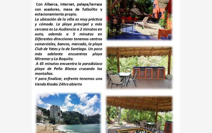 Foto de departamento en renta en  , pen?nsula de santiago, manzanillo, colima, 1606160 No. 04
