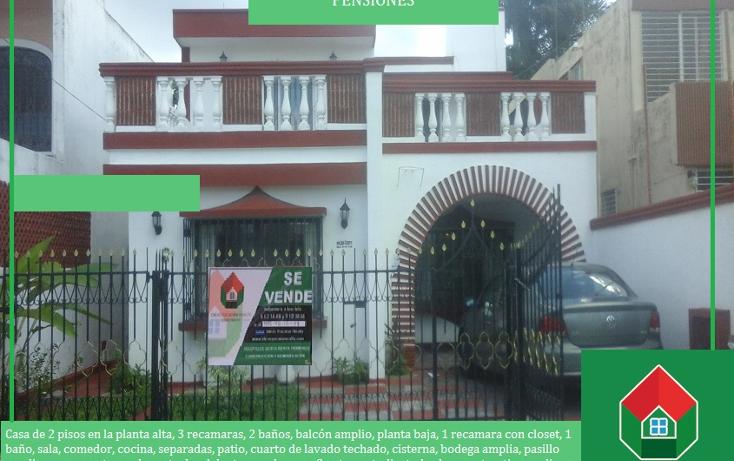 Foto de casa en venta en  , pensiones, mérida, yucatán, 1490073 No. 01