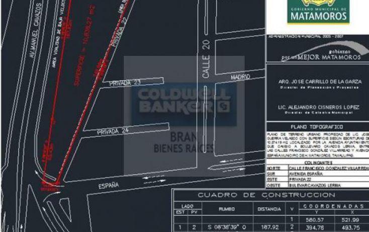 Foto de terreno habitacional en renta en periferico entre fco gonzalez villarreal y espaa, san francisco, matamoros, tamaulipas, 1429699 no 07