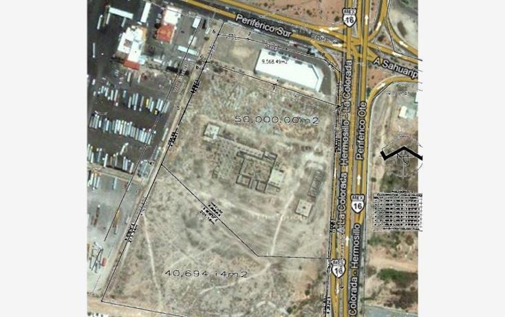 Foto de terreno industrial en venta en carretera hermosillo-la colorada , perisur, hermosillo, sonora, 1168485 No. 01