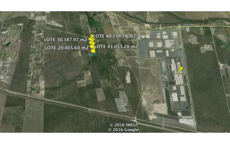 Foto de terreno industrial en venta en  , pesquería, pesquería, nuevo león, 1449181 No. 01