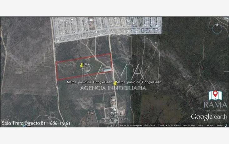 Foto de terreno industrial en venta en  , pesquería, pesquería, nuevo león, 1952706 No. 02