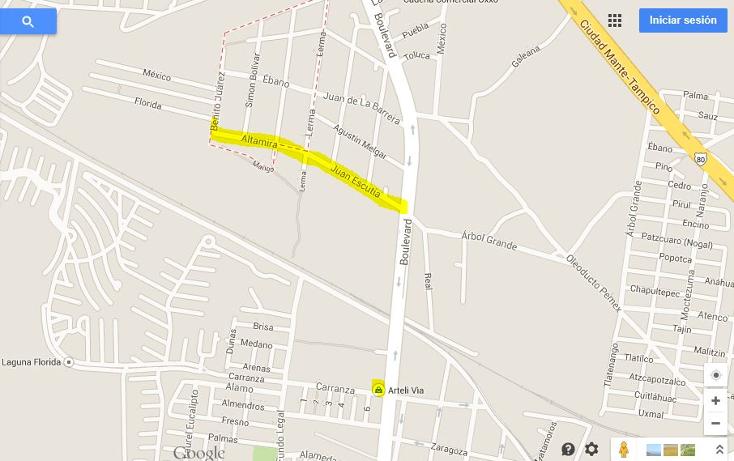 Foto de terreno habitacional en venta en  , petrolera, altamira, tamaulipas, 1268707 No. 03