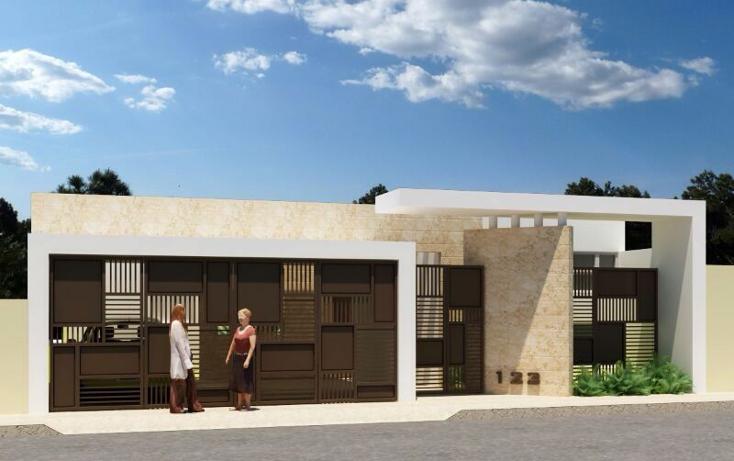 Foto de casa en venta en  , pinzon, mérida, yucatán, 1243397 No. 01