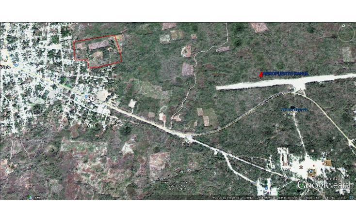 Foto de terreno habitacional en venta en  , piste, tinum, yucatán, 1097301 No. 01