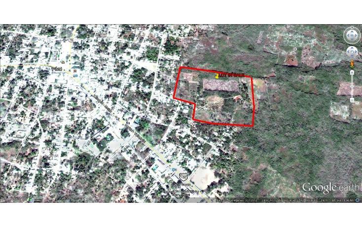 Foto de terreno habitacional en venta en  , piste, tinum, yucatán, 1097301 No. 02