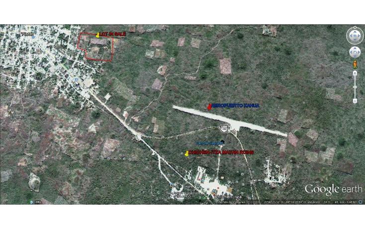 Foto de terreno habitacional en venta en  , piste, tinum, yucatán, 1097301 No. 04