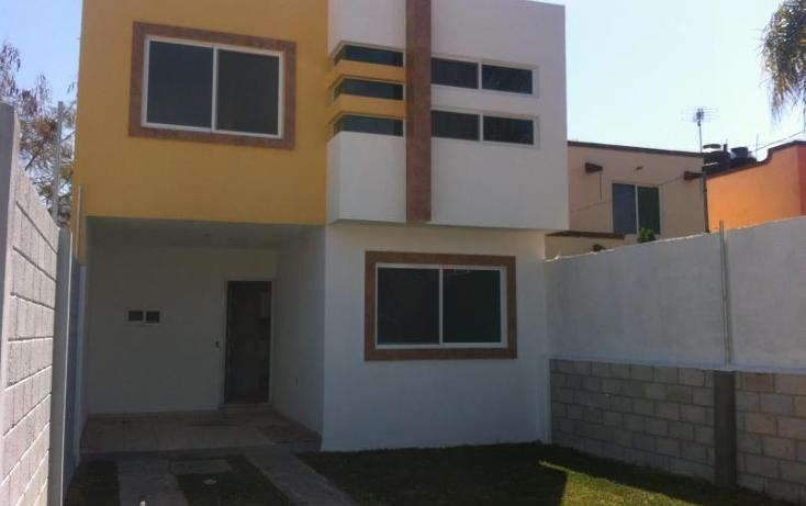 Foto de casa en venta en  , plan de ayala, cuautla, morelos, 605823 No. 01