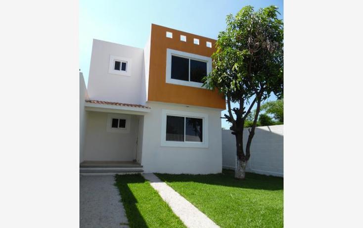 Foto de casa en venta en  , plan de ayala, cuautla, morelos, 738881 No. 01