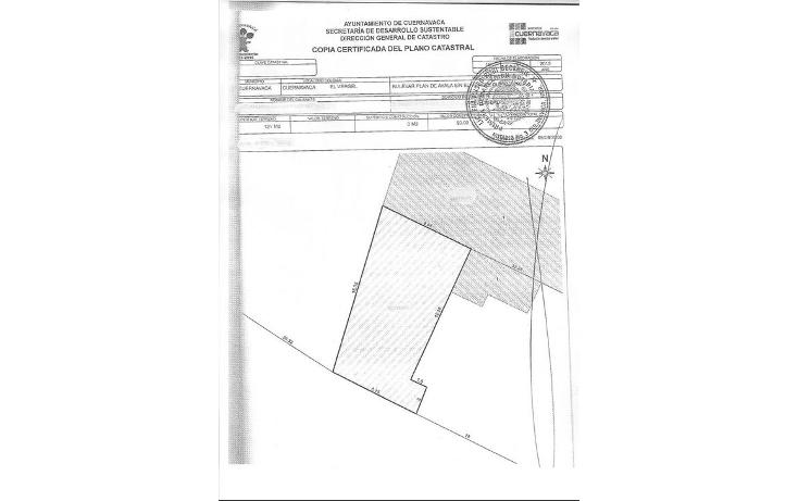 Foto de terreno comercial en venta en  , plan de ayala, cuernavaca, morelos, 1865762 No. 02